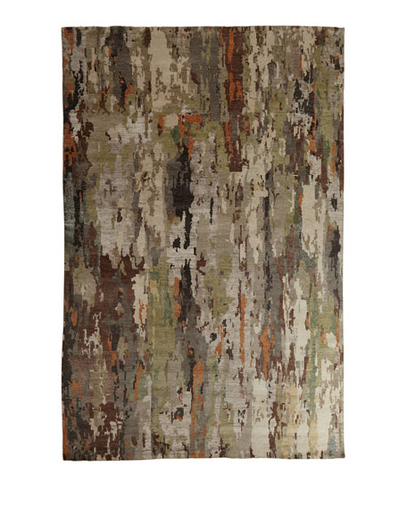 Aiden Hand-Knotted Rug, 4' x 6'