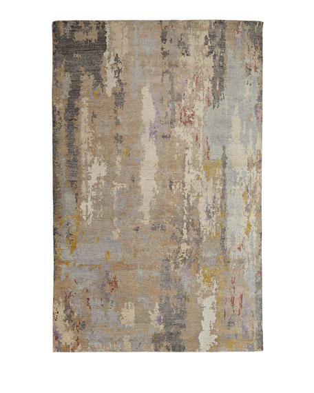 Nash Hand-Knotted Rug, 6' x 9'