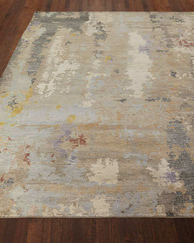 Nash Hand-Knotted Rug  6' x 9'