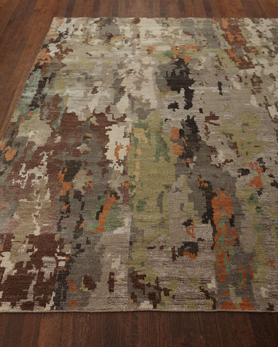 Aiden Hand-Knotted Runner  2.6' x 10'