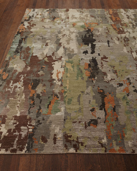 Aiden Hand-Knotted Runner, 2.6' x 10'