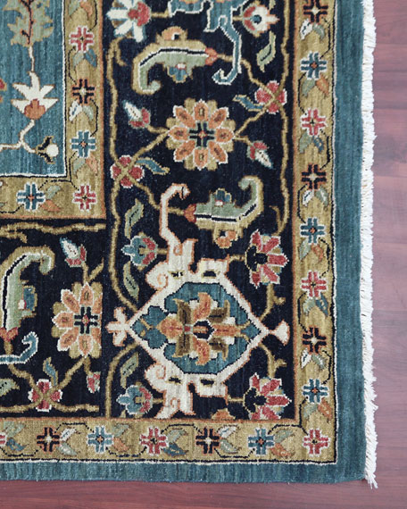 Hastings Hand-Knotted Rug, 9' x 12'