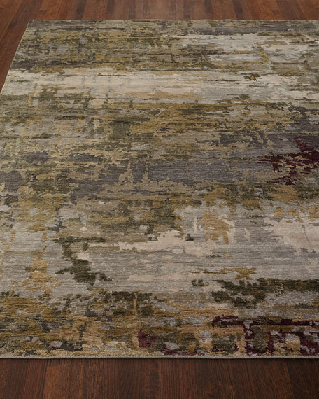 Lennon Hand-Knotted Rug, 6' x 9'