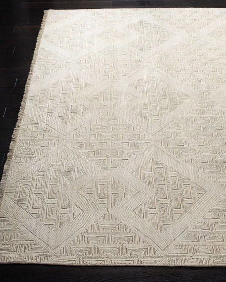 Hartley Hand-Knotted Rug, 6' x 9'