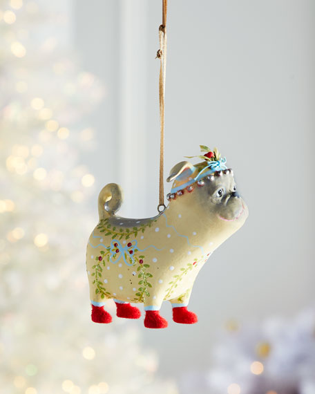 Prudence Pug Ornament