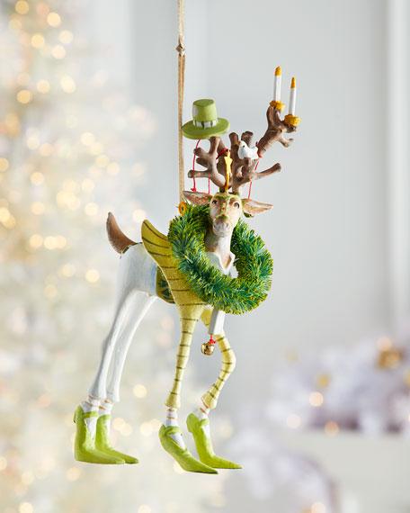 Patience Brewster Dash Away Prancer Reindeer Ornament