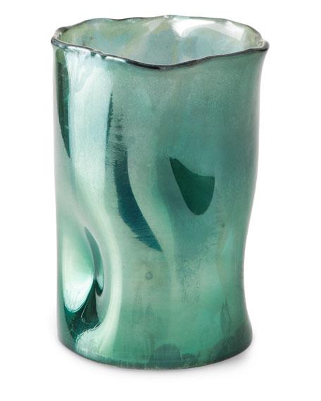 Artisanal Vase, Green