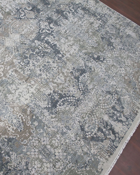 Arista Hand-Knotted Rug, 6' x 9'