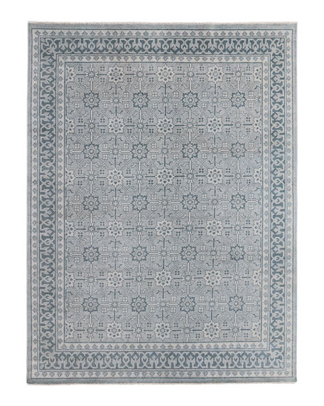 Roman Hand-Knotted Rug, 9' x 12'