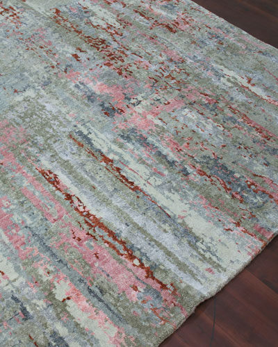 Calvin Hand-Knotted Rug  6' x 9'