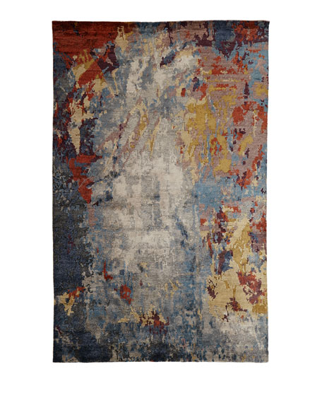 Channing Hand-Knotted Rug, 6' x 9'