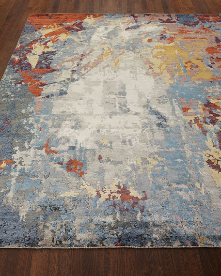 Channing Hand-Knotted Runner, 2.6' x 10'