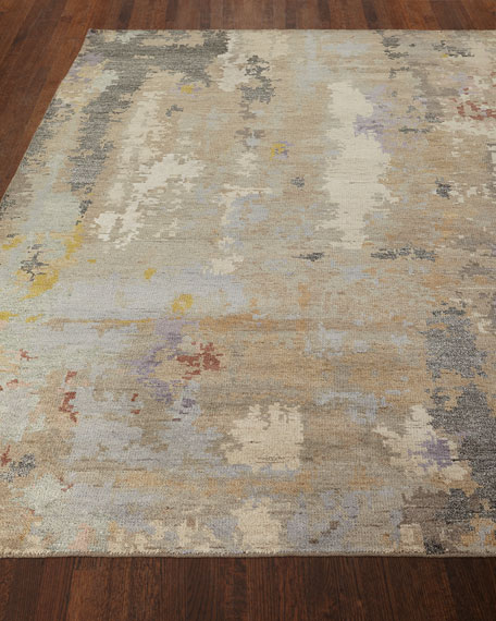 Nash Hand-Knotted Rug, 4' x 6'