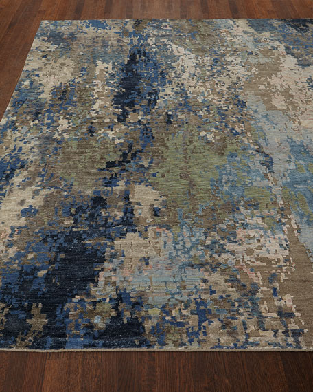Ellison Tibetan Weave Knotted Rug, 8' x 10'