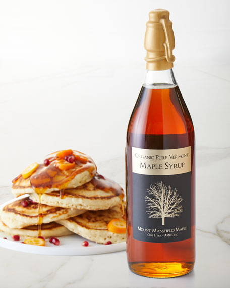 Mount Mansfield Maple Products Maple Syrup Champagne Bottle