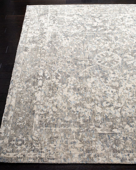 Freja Loom-Knotted Rug, 6' x 9'