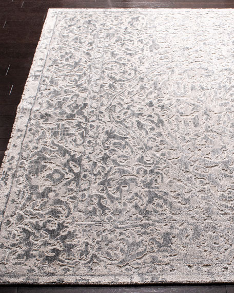 Massey Hand-Knotted Rug, 6' x 9'