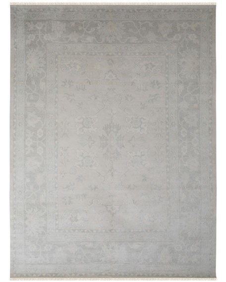 Hallewell Hand-Knotted Rug, 9' x 12'