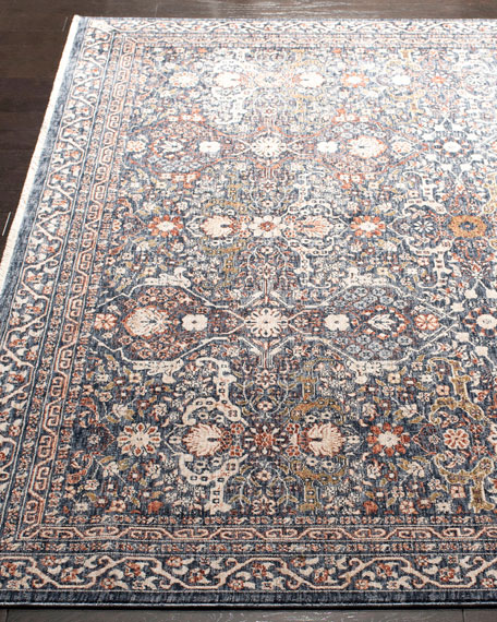 Belvoir Power-Loomed Rug, 5.3' x 7.6'