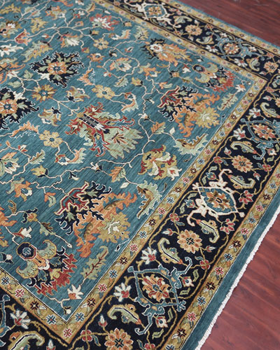 Hastings Hand-Knotted Rug  6' x 9'