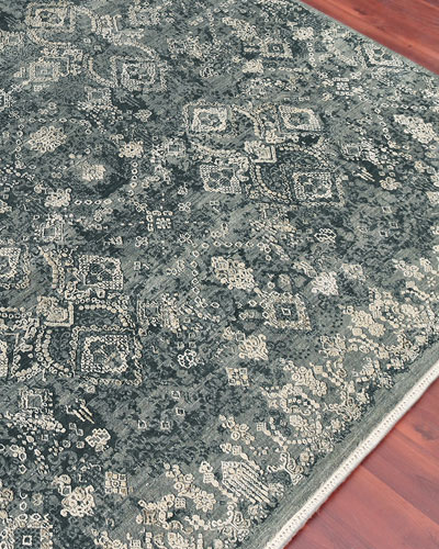 Quinton Hand-Knotted Rug  6' x 9'