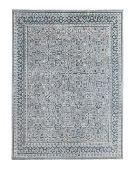 Roman Hand-Knotted Rug, 8' x 10'