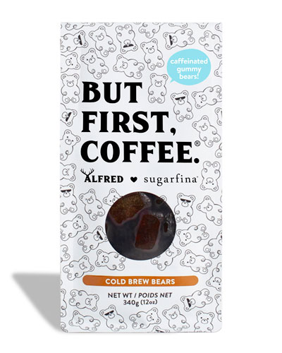 x Alfred Cold Brew Caffeinated Gummy Bears In Coffee Bag