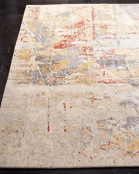 Bronny Hand-Knotted Rug, 8' x 10'