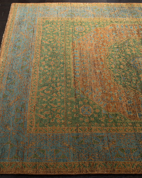 Barstow Hand-Knotted Rug, 9' x 12'