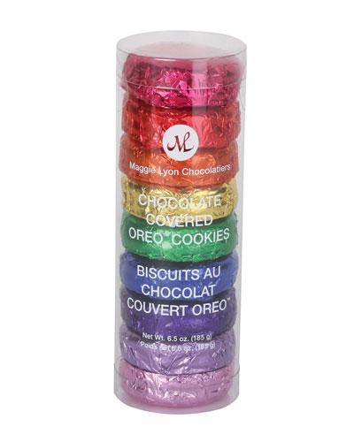 9pc Oreos With Rainbow Color Foil