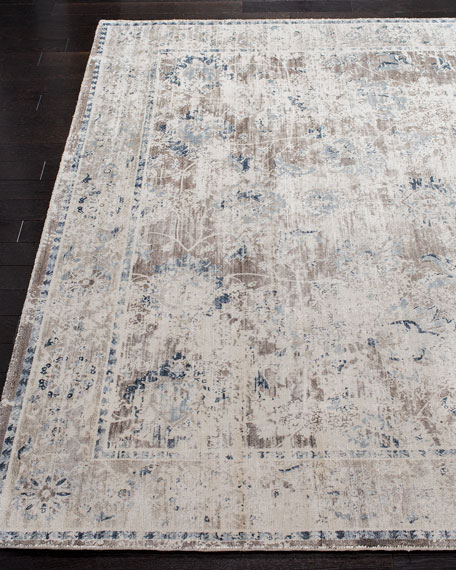 Karla Loom-Knotted Rug, 9' x 12'