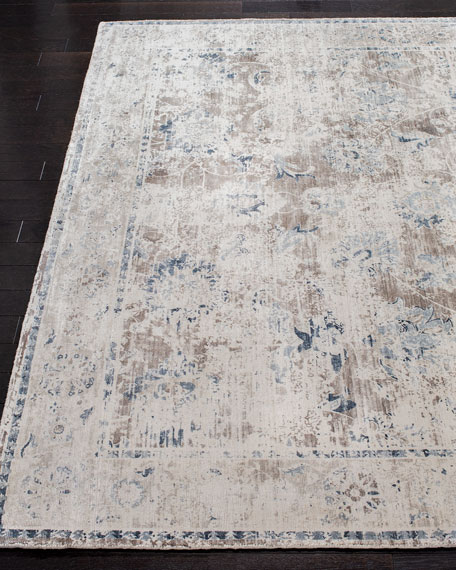 Karla Loom-Knotted Rug, 6' x 9'