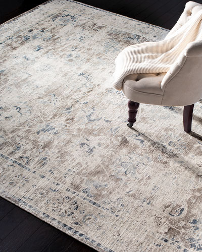 Karla Loom-Knotted Rug  6' x 9'