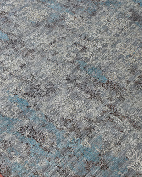 Halthom Hand-Knotted Rug, 6' x 9'