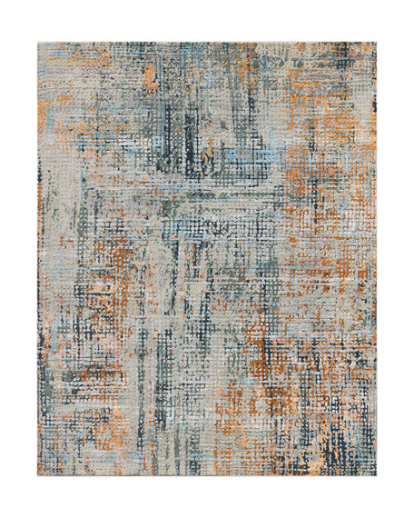 Georgia Hand-Knotted Rug, 9' x 12'