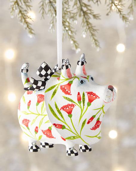 Patience Brewster Gracie Westie Ornament