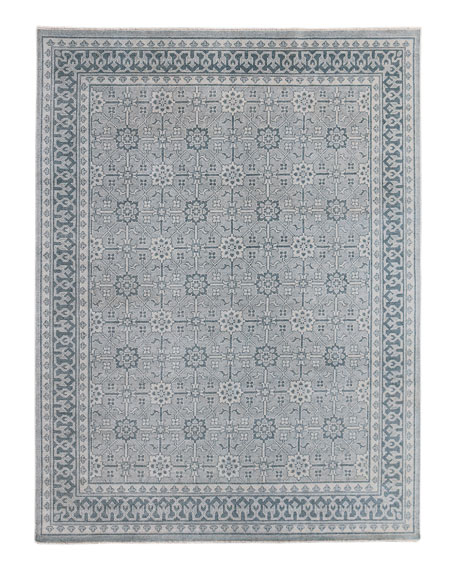 Roman Hand-Knotted Rug, 6' x 9'