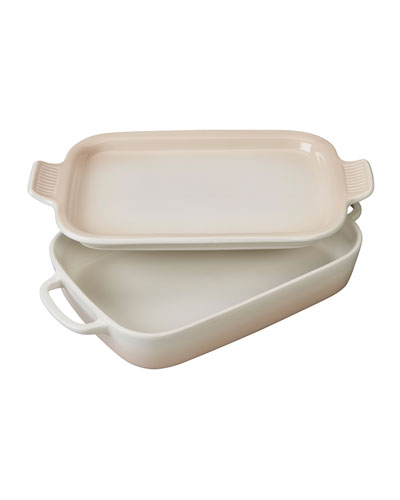 Rectangular Dish with Platter Lid