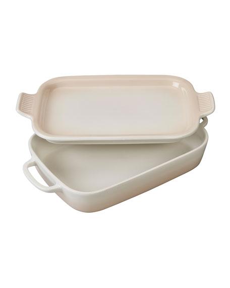 Rectangular Dish with Platter Lid