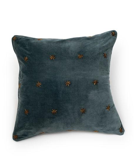 Joanna Buchanan Embroidered Star Pillow