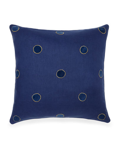 Velvet Dot Pillow