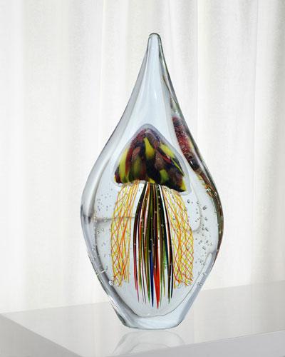 Madera Decorative Art Glass Sculpture