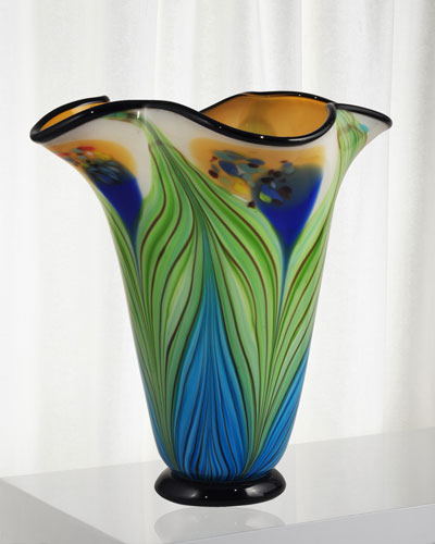 Kalima Decorative Art Glass Vase