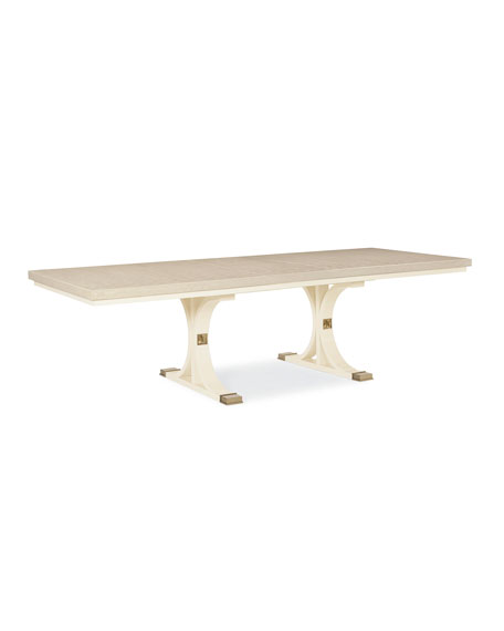Toe The Line Dining Table