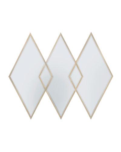 Three Of Diamonds Mirror