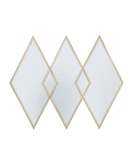 Three Of Diamonds Mirror