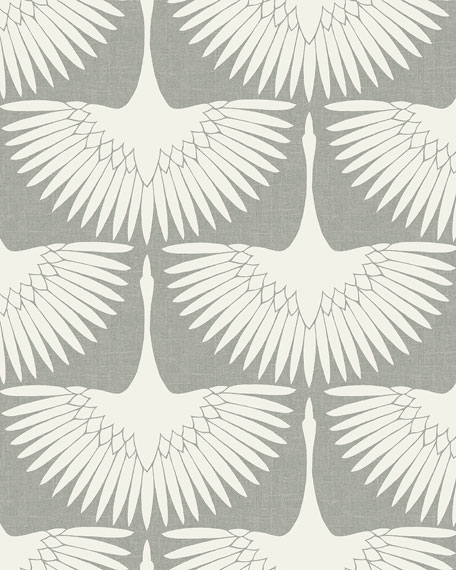 Feather Flock Removable Wallpaper
