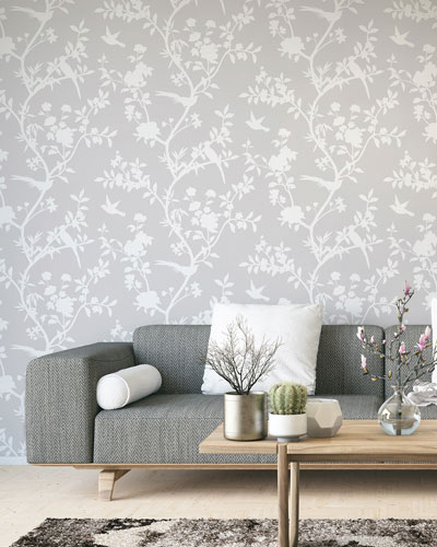 Garden Affair Removable Wallpaper