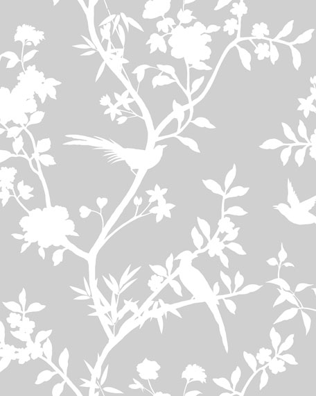 Garden Affair Removable Wallpaper