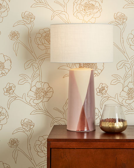 Peonies Removable Wallpaper